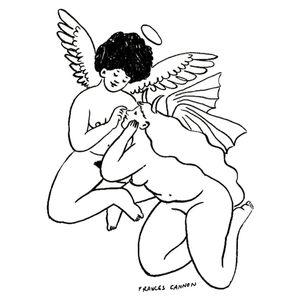 Illustration by Frances Cannon #FrancesCannon #visualartist #tattoocollector #tattooart