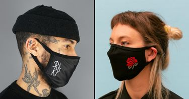 Staying Safe in Style: Tattooer Made Face Masks
