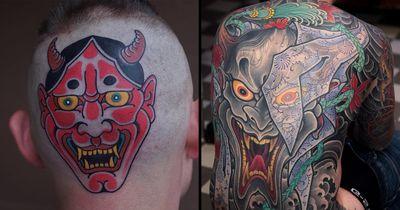 The Wild Symbolism Behind Japanese Hannya Tattoos