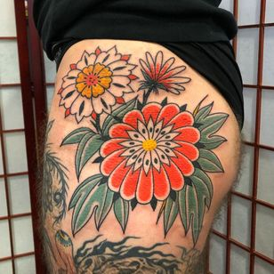 Tattoo by Boone Naka #BooneNaka #flower #floral #plant #nature