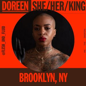 Doreen Garner for It Cuts Deep - virtual panel via Ink the Diaspora - graphics by Rush Jackson #InktheDiaspora #DoreenGarner #fleshandfluid #tattoosonblackskin #tattoosondarkskin #experienceoftheblacktattooer