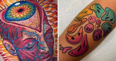 White Rabbits in a Purple Haze: Psychedelic Tattoos