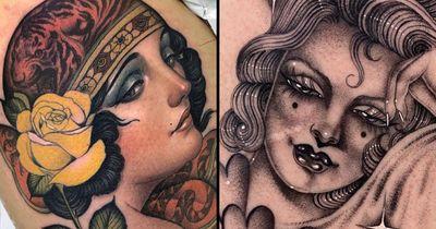 40 Enticing Pin-up Tattoos