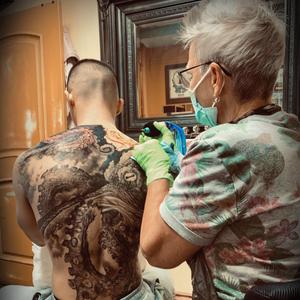 Kari Barba Tattooing #KariBarba #OuterLimits