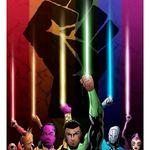Illustration by Chris Morris #ChrisMorris #newschool #colorful #superheroes #thegreenlantern #blacklivesmatter #rainbow