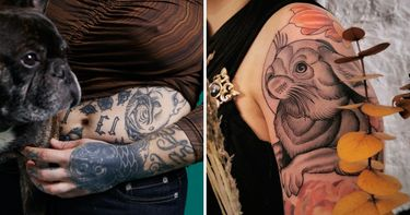 Furry Friends: Top 15 Pet Tattoos