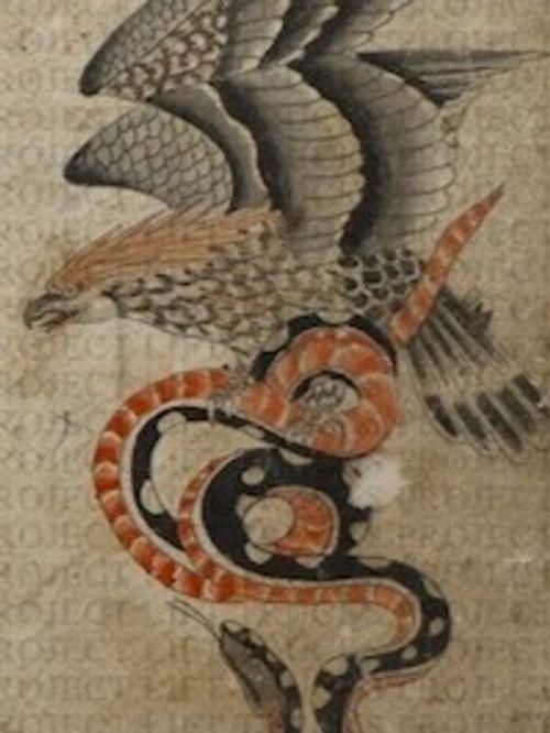 A selection of George Burchett's animal flash tattoo designs #GeorgeBurchett #flashtattoos #traditionaltattoos #historictattoos #animaltattoos