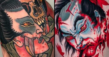 Heads Will Roll: Namakubi Tattoos for Tattoo of the Day