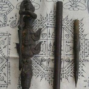 Antique Thai tattoo tools and Sak Yant designs #tattootools #tattoosupplies #tattoohistory #tattooculture #sakyant #thaitattoo