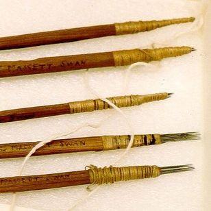 Haida tattoo tools #Haida #tattootools #tattoosupplies #tattoohistory #tattooculture