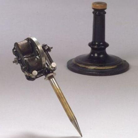 Edisons Electric Pen #Edison #ElectricPen #tattoomachine #tattootools #tattoosupplies #tattoohistory #tattooculture