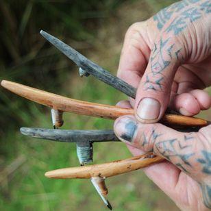 Ta moko tattoo tools #tamoko #maori #tattootools #tattoosupplies #tattoohistory #tattooculture
