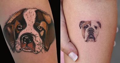 Man's Best Friend: Quintessential Dog Tattoos and Pup Portraits