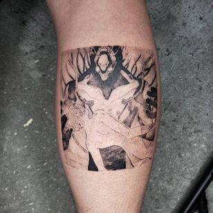 Illustrative tattoo by Kristianne aka krylve #kristianne #krylev #illustrative #yui #shinji #mother #evangelion #anime #manga