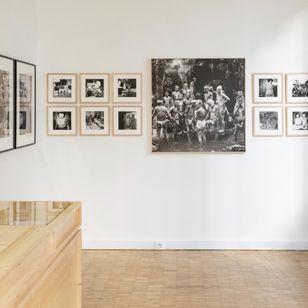 Akimitsu Takagi's work installed at Galerie Écho in Paris - #AkimitsuTakagi #PascalBagot #japanesetattoo #tattooculture #tattooart