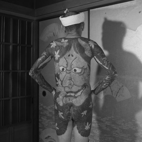 Photograph by Akimitsu Takagi via Pascal Bagot #AkimitsuTakagi #PascalBagot #japanesetattoo #tattooculture #tattooart