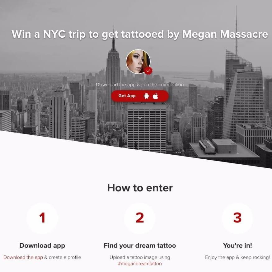 Tattoodo competition #MeganMassacre #megandreamtattoo #meganmassacrecontest #meganmassacretattoo