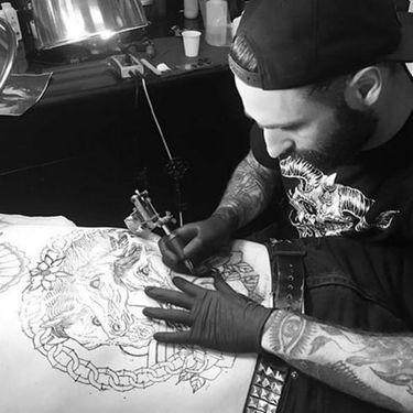 Exciting Traditional Tattoos by Griffen Gurzi