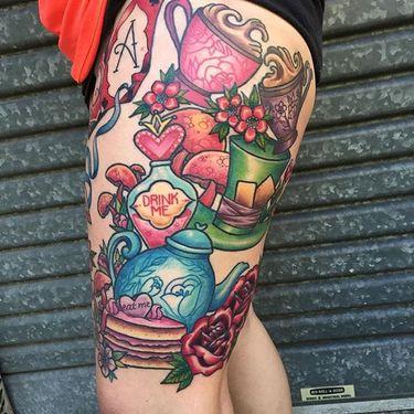 Sweet Decorative Tattoos by Sami Locke