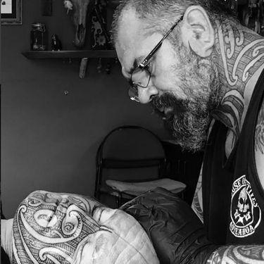 Incredible Ta Moko Tattoos by Gordon Toi