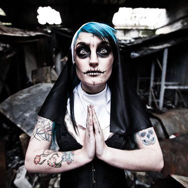 13 Macabre Nun Tattoos that Will Terrify You