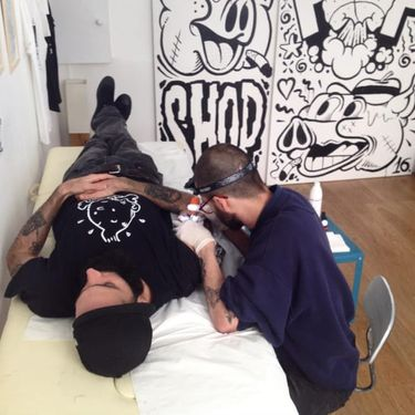 Offbeat Cartoon Inspired Tattoos by Dalas