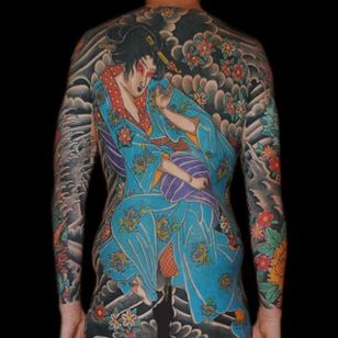 Geisha Tattoo by Bonel Tattooer #geisha #geishatattoo #japanese #japanesetattoos #japanesetattoo #irezumi #irezumitattoo #BonelTattoo