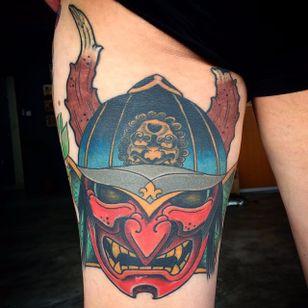 Kabuto Tattoo by Bonel Tattooer #kabuto #kabutotattoo #japanese #japanesetattoos #japanesetattoo #irezumi #irezumitattoo #BonelTattoo