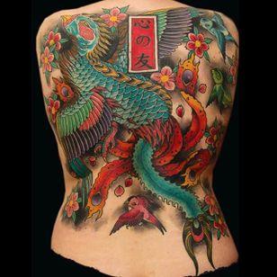 Phoenix Tattoo by Bonel Tattooer #phoenix #phoenixtattoo #japanese #japanesetattoos #japanesetattoo #irezumi #irezumitattoo #BonelTattoo