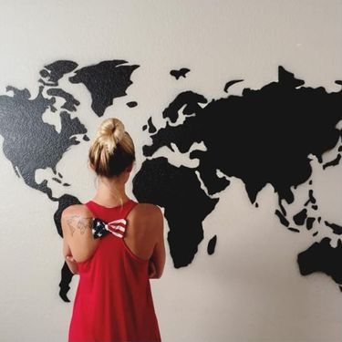 Get Creative with Map and Globe Tattoos!