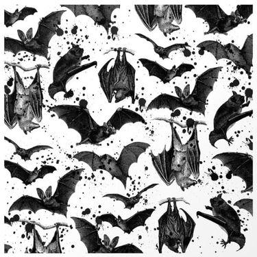 16 Dark and Daunting Blackwork Bat Tattoos