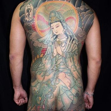 9 Large Scale Japanese Tattoos by Horitada