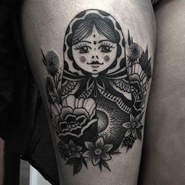 Dark Artists: Bold Blackwork by Jaffa Wane