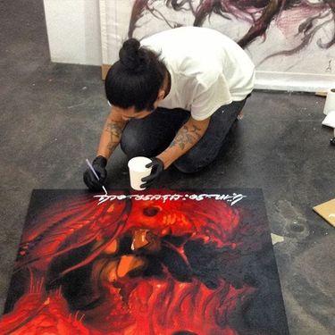 Dramatic Japanese Tattoos by Lango Oliveira