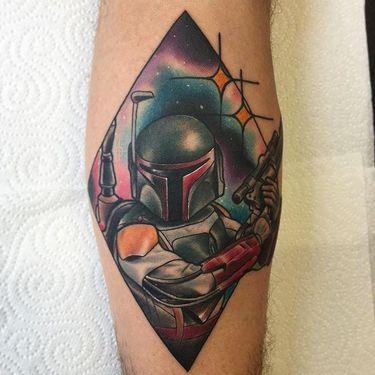 Diamond Portrait Tattoos of Movie Characters by Matt Youl