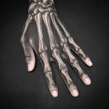 Dark X-ray Inspired Tattoos by Gara Skull
