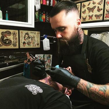 Bold and Clean Traditional Tattoos by Jacob Doney