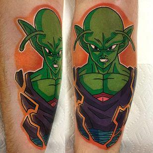 Piccolo tattoo by Adam Perjatel. #AdamPerjatel #anime #dragonball #dbz #dragonballz