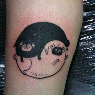by Jesse Lockard #YinYangtattoos #YinYang #Chinese #symbol