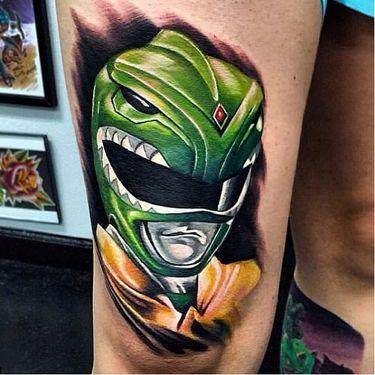 15 Tatuagens Dos Power Rangers Para Salvar o Mundo Do Mal