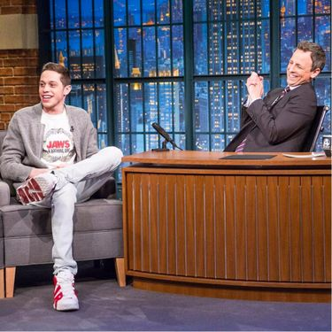 There's a Silly Reason Why SNL's Pete Davidson's Tattoos Scare Him