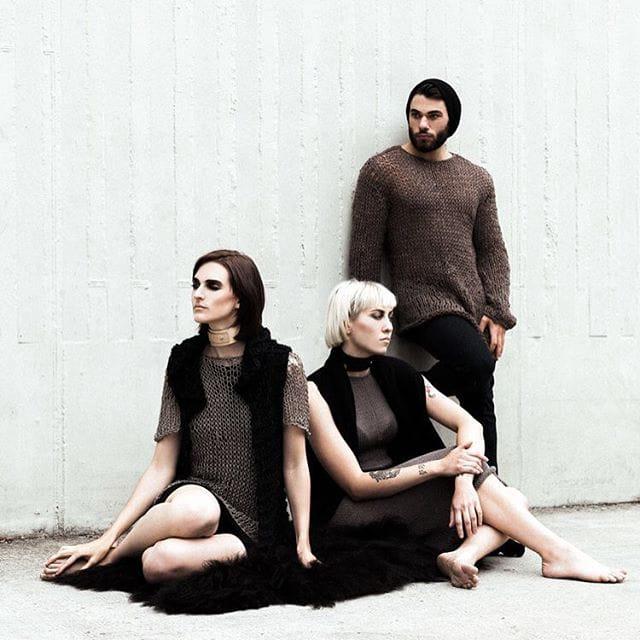 Morph Knitwear (via IG-morphknitwear) #clothing #knitwear #knits #black #handmade #alternative #gift #giftguide #morphknitwear