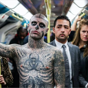 How Rick Genest Became Zombie Boy