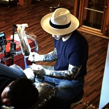 Unrelenting Blackwork Tattoos by Scar Tattooer