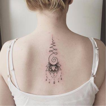 14 Delicadas Tatuagens De Unalomes