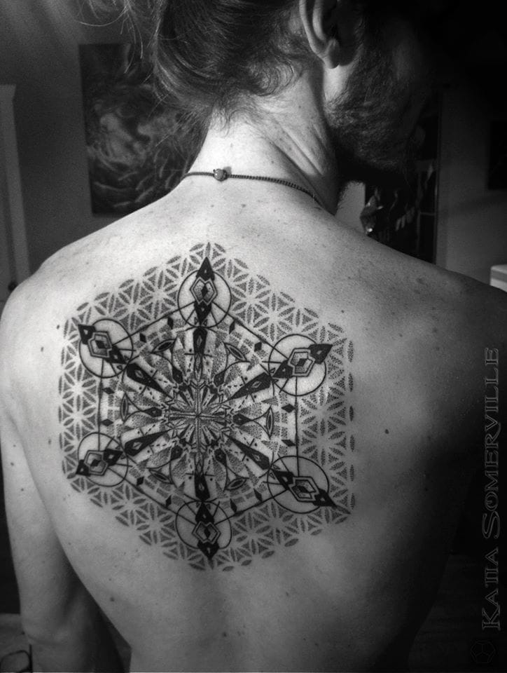 Amazing ink by Katia Somerville.