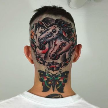 Sharp Neo Traditional and Realistic Tattoos by Nate Graves