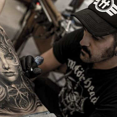 Realistic Black and Grey Surrealism by Mumia