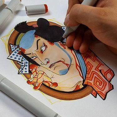 Exquisite Irezumi Tattoos by Jan Willem