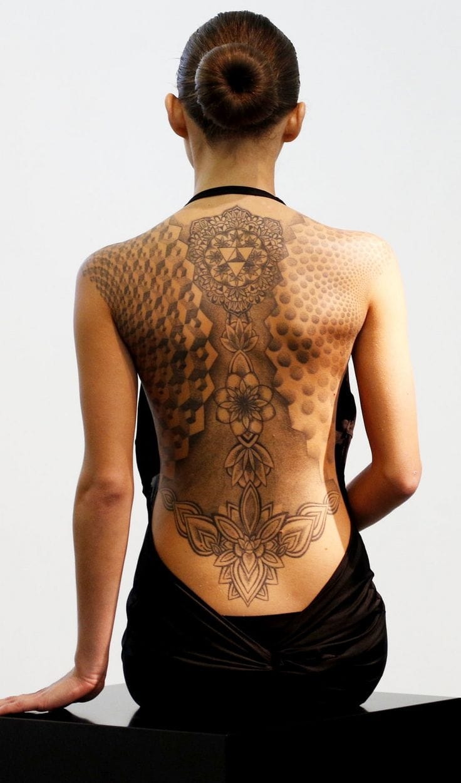 Beautiful full back piece